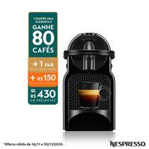 Nespresso Inissia Preta, Cafeteira - 110V  D40 -