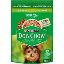 Nestlé Purina Dog Chow Ração Úmida para Cães Filhotes Carne e Arroz - 100 g -