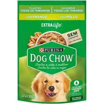 Nestlé Purina Dog Chow Ração Úmida Para Cães Filhotes Frango e Arroz - 100 g -