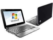 Netbook HP 210-2040BR c/ Intel  Atom - 2GB 320GB LED 10,1 Windows 7 Bluetooth