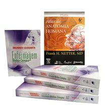 Netter Atlas de Anatomia Humana 6ª Ed + Brunner Tratado de Enfermagem Médico-cirúrgica 13ª Ed - Kit De Livros