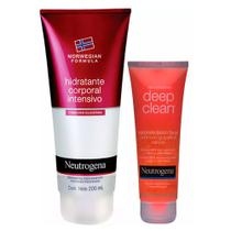 Neutrogena Deep Clean + Norwegian Kit - Sabonete Facial + Hidratante Corporal