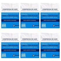 Neve Compressa De Gaze 11 Fios C/500 (Kit C/06) -