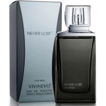 Never Lost Black eau de toilette 100ml Vivinevo Perfume Masculino -