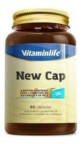 New Cap Hair 60 Cápsulas Vitamina Para Cabelo - Vitaminlife -
