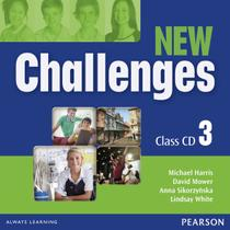 New challenges 3 class audio cd - 2nd ed - Pearson audio visual -