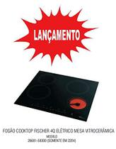 New cooktop elét vitroc. touch screen 4 bocas - fischer 220v