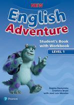 New english adventure 1 sb with wb - 1st ed - Pearson (importado)