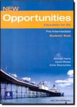 New opportunities pre-interm. sb with mini-dictionary - Pearson (importado)