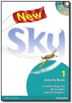 New sky 1: activity book with multi-rom - Pearson -