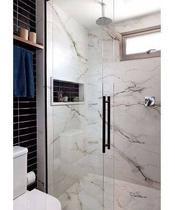 Nicho Banheiro Mármore Branco 30x60 S/fundo C/borda - Avalon House