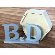 Nicho Hexagonal Com Espelho Colmeia Com Fundo Espelhado Mdf - B&D Arte e Decoração