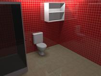 Nicho para Banheiro 2 Vãos HV 485 - Home vision