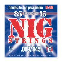NIG - Cordas Para Violão N490 -