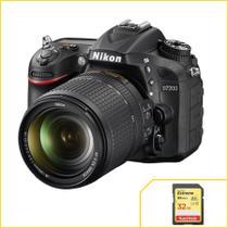 Nikon D7200, DX, WiFi com Lente 18-140mm VR + Extreme de 32Gb. -