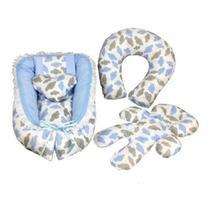 Ninho Redutor Para Berço E Bebê Conforto+almofada Amamentar - Stylo Casa