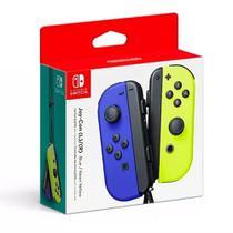 Nintendo Joy-Con (L/R) Azul e Amarelo Neon - Switch -