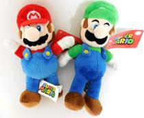 Nintendo Mario and Luigi Pelúcia Kit Set - Super Mario Bros