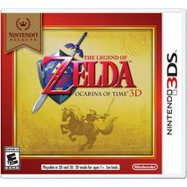Nintendo Select The Legend Of Zelda Ocarina Of Time 3D - 3Ds