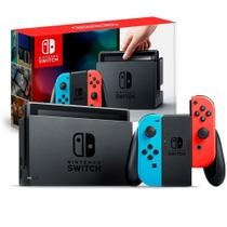 Nintendo Switch 32gb Bivolt Neon - Vermelho e Azul -