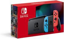 Nintendo Switch 32GB + Controle Jay-Con Colorido -