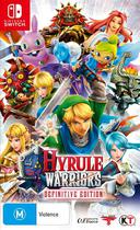 Nintendo Switch - Hyrule Warriors: Definitive Edition -