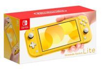 Nintendo Switch Lite Yellow - Amarelo -