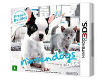 Nintendogs Cats French Buldog p/ Nintendo 3DS - Nintendo