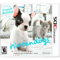 Nintendogs+Cats:French Bulldog - 3Ds -