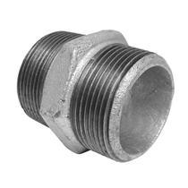 Niple Duplo Galvanizado 1 Segurimax -