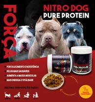 Nitro-dog Pure Protein Massa Muscular Cães E Gatos 150 Snack - Pecon Produtos Veterinários