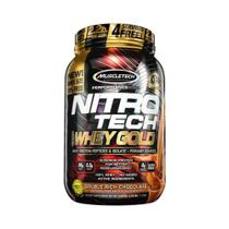 NITRO TECH 100 WHEY GOLD 1,02kg - CHOCOLATE DUPLO - Muscletech -