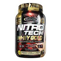 NITRO TECH 100% WHEY GOLD (2.2lbs) - Baunilha - Muscletech -