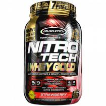 Nitro Tech 100 Whey Gold - 2.2lbs - MuscleTech -