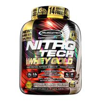 Nitro tech 100% whey gold 2,5 kg - muscletech (cookies and cream) -