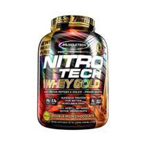 NITRO TECH 100 WHEY GOLD 2,51kg - CHOCOLATE DUPLO - Muscletech -