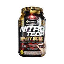 NITRO TECH 100 WHEY GOLD 999g - BISCOITO E CREME - Muscletech