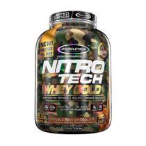 NITRO TECH 100% WHEY GOLD CAMUFLADO (5.5lbs) - Chocolate Duplo - Muscletech -