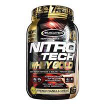 Nitro Tech 100% Whey Gold French Vanilla Crème 999g - Muscletech -