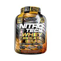 NITRO TECH WHEY ISOLATE GOLD 1,81kg - CHOCOLATE DUPLO - Muscletech