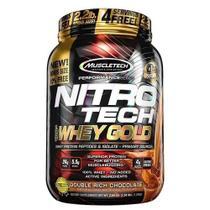 NitroTech Whey Gold 2,2lbs - Muscletech  (baunilha) -