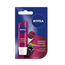 Nivea Amora Shine Protetor Labial 4,8g -