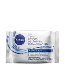 Nivea Lenços De Limpeza Demaquilante 3 em 1 Açao Refrescante 25Un - Visage