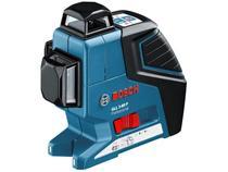 Nível a Laser Automático Bosch GLL 3-80 P - com Base Magnética Alcance 40m