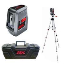 Nível A Laser Com Tripé 0516 - Alcance 10 Metros - Skil -