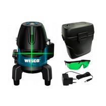 Nível a Laser Recarregável Linha Verde 3.7V WS8911K Wesco -