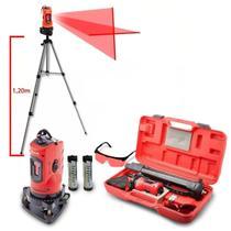 Nivel Laser 10 Metros Medidor Automatico C/ Tripé Maleta Mtx -