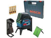 Nível Laser Automático Bosch GCL 2-15  - com Base Magnética Alcance 15m com Maleta -