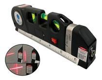 Nível Laser Profissional Trena Level 3 Estágios Nivelador - LuaTek
