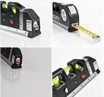 Nivelador Laser Trena 3 Bolhas Horizontal Vertical - Luatek ou Lelong
